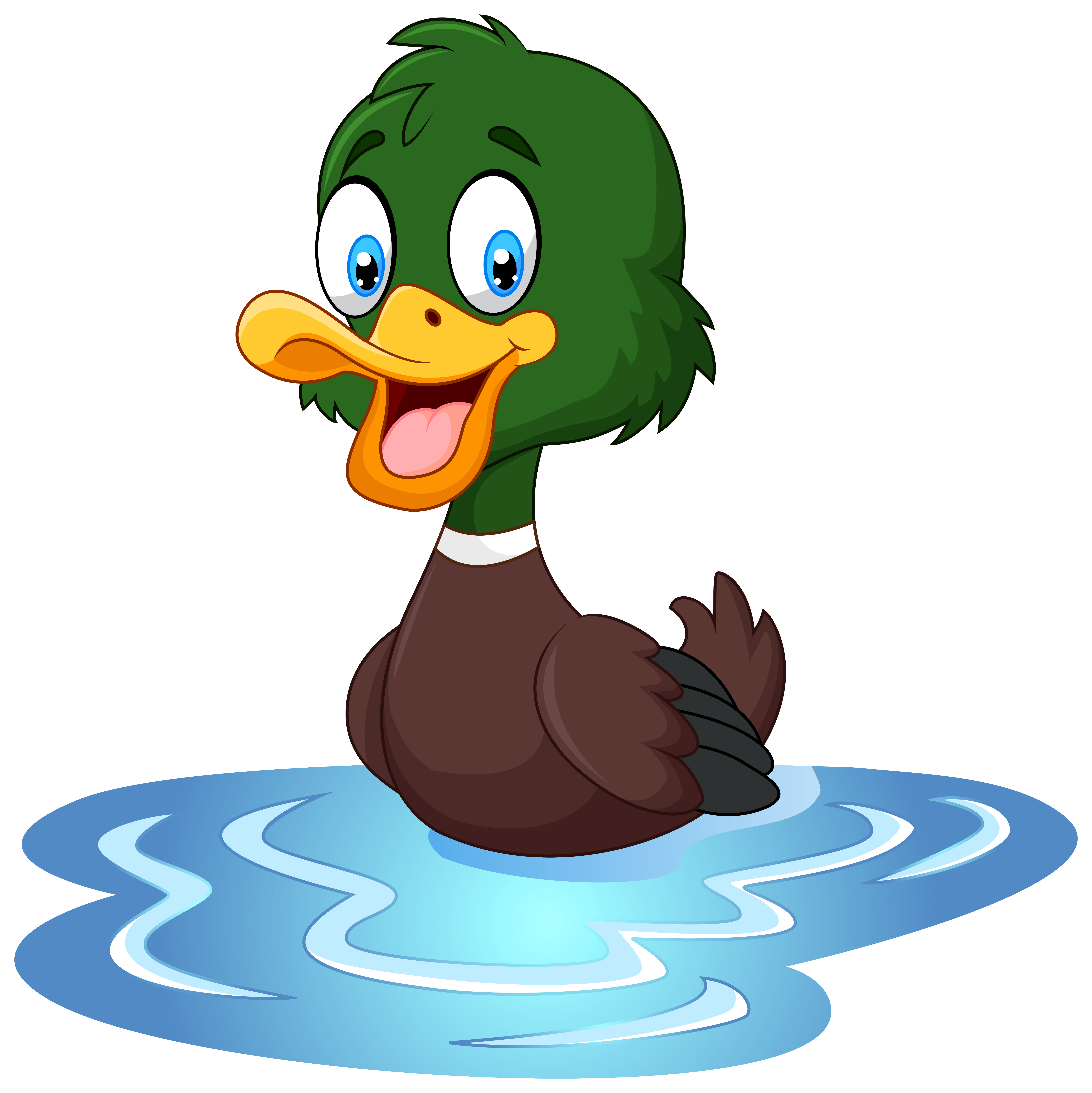 Duck clipart #1, Download drawings
