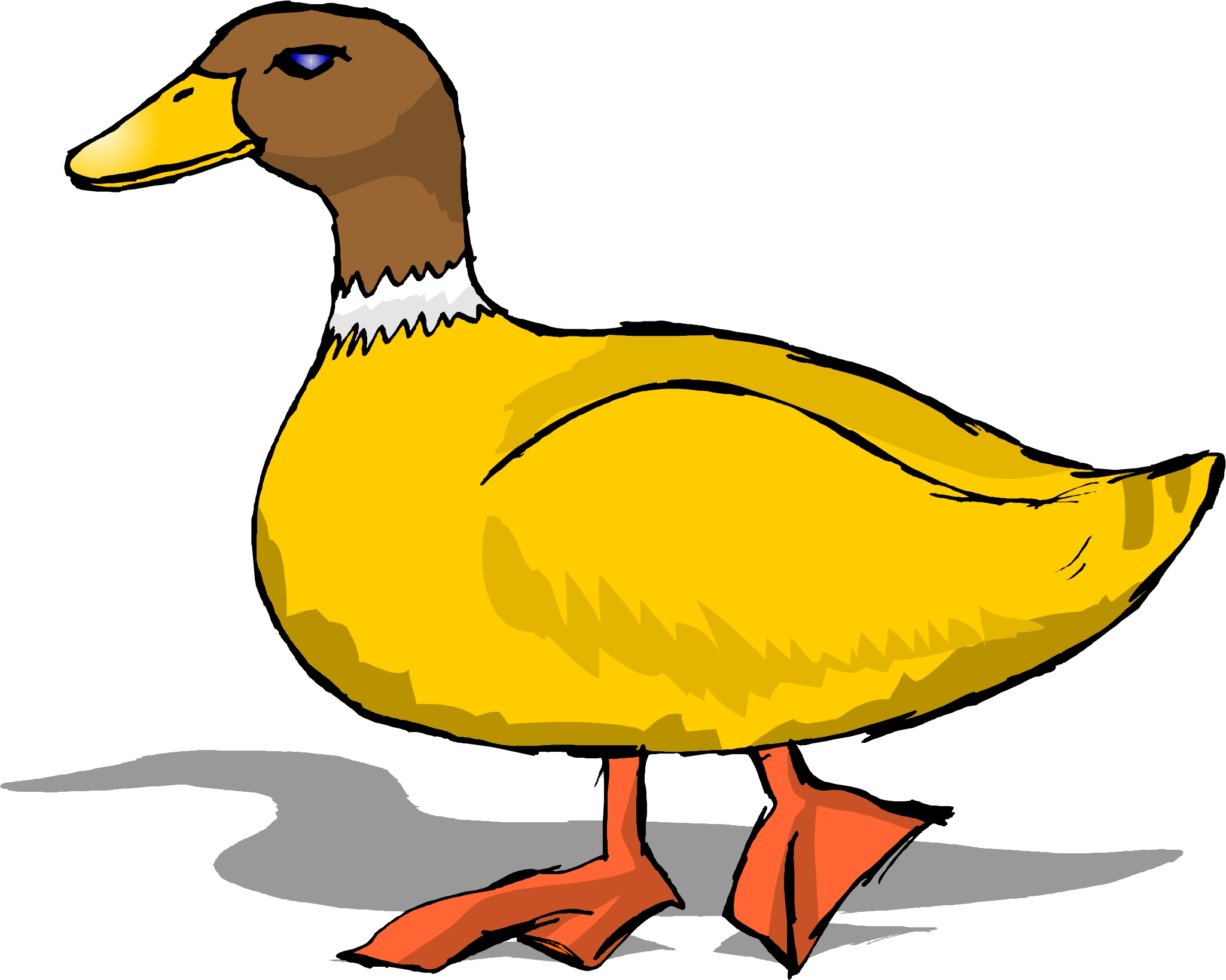 Duck clipart #2, Download drawings