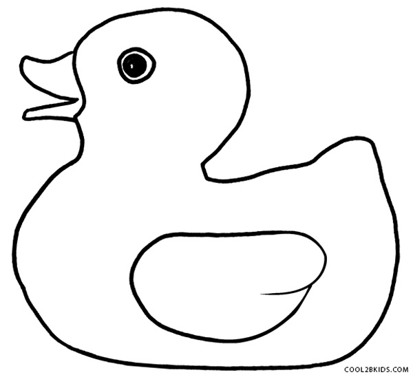 Duck coloring #11, Download drawings