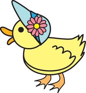Duckling clipart #1, Download drawings