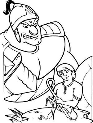 Duel coloring #12, Download drawings
