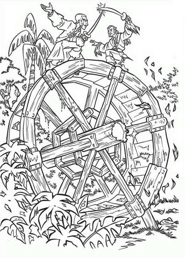 Duel coloring #3, Download drawings