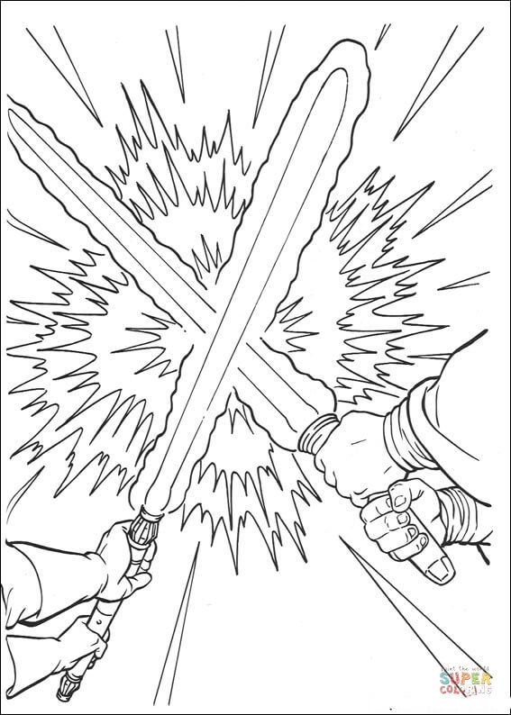 Duel coloring #14, Download drawings