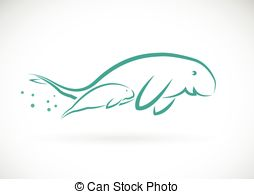 Dugong clipart #11, Download drawings