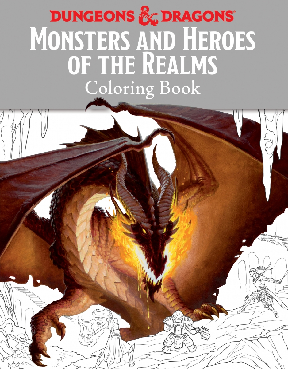 Dungeons & Dragons coloring #2, Download drawings