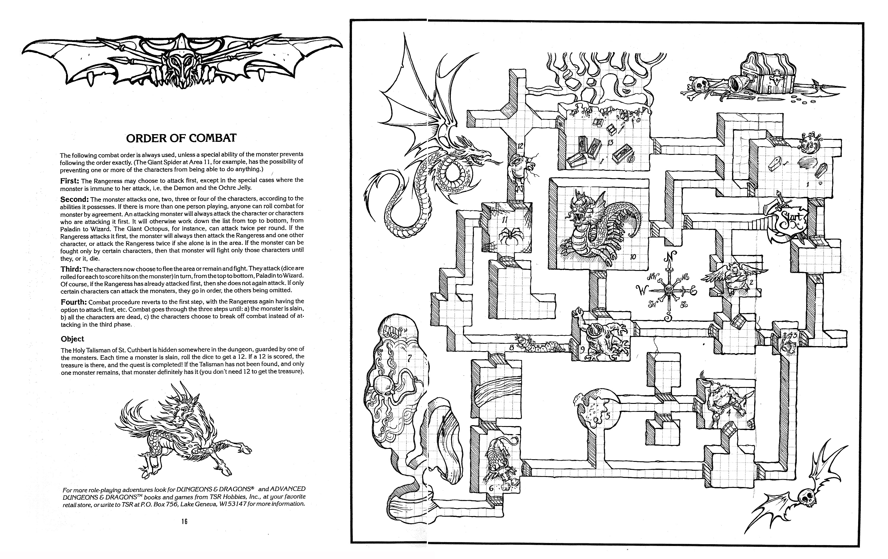 Dungeons & Dragons coloring #1, Download drawings