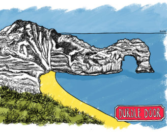 Durdle Door clipart #1, Download drawings