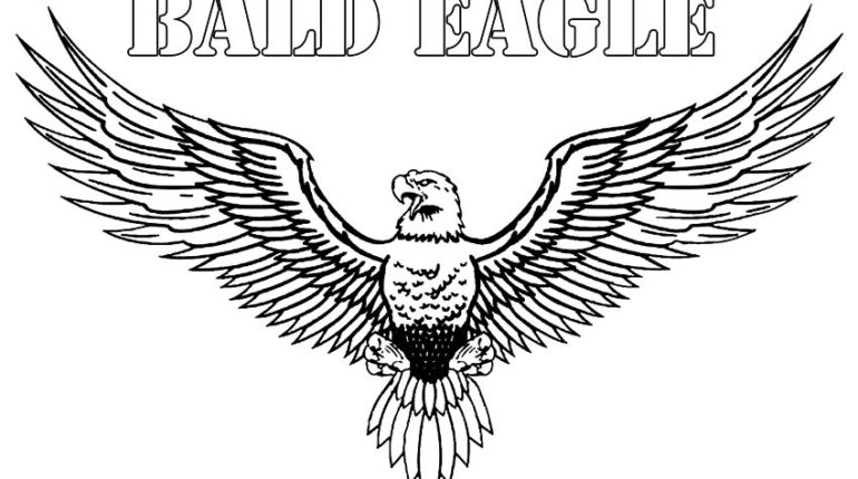 Eagle coloring #18, Download drawings