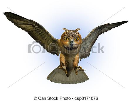 Eagle-owl clipart #4, Download drawings