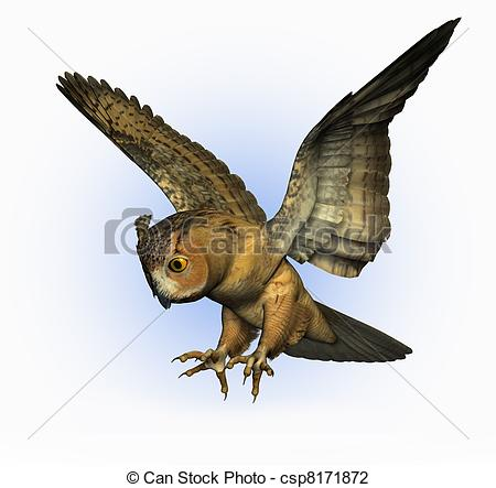 Eagle-owl clipart #7, Download drawings