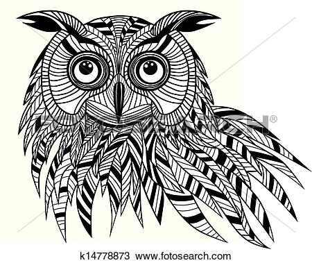 Eagle-owl clipart #5, Download drawings
