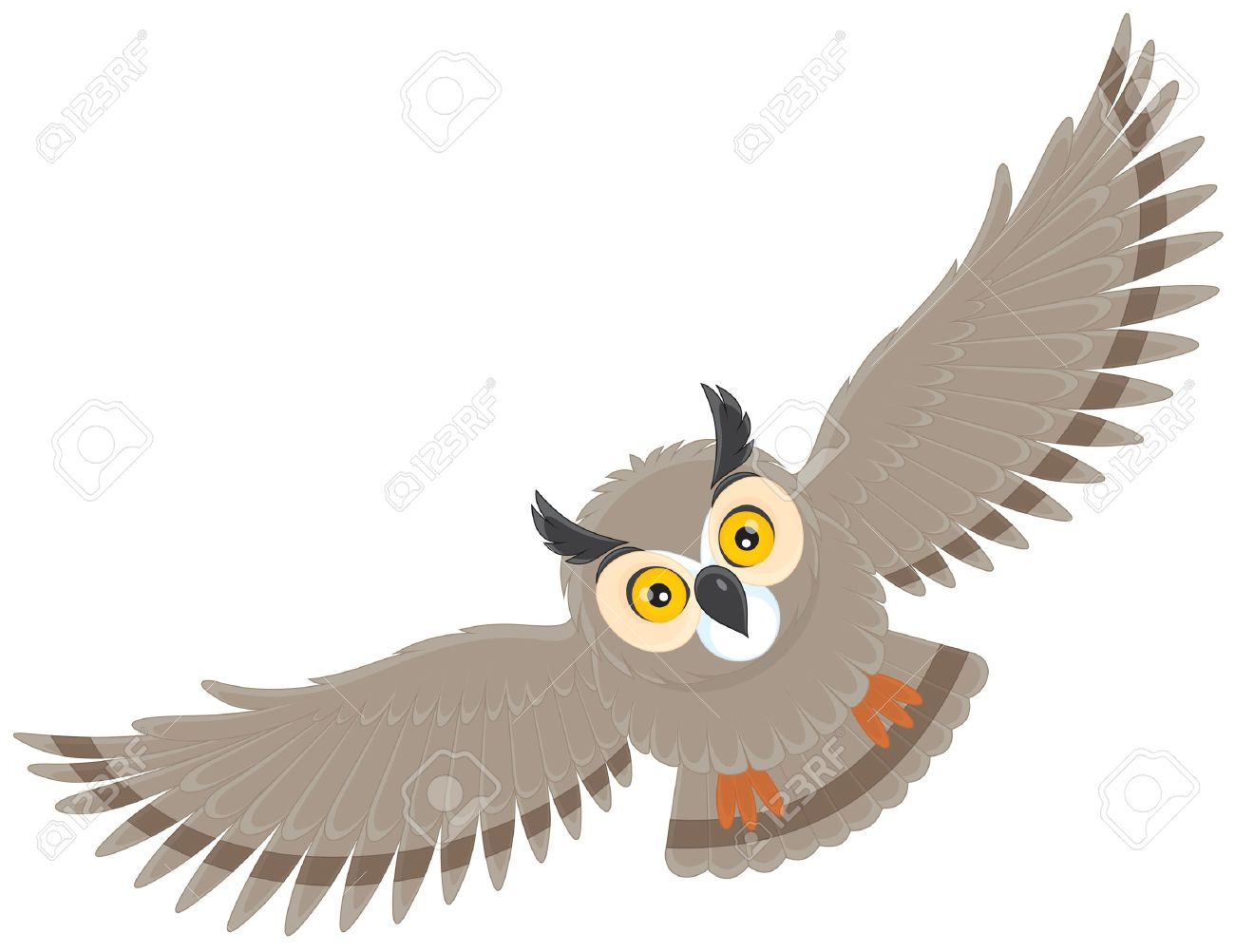 Eagle-owl clipart #11, Download drawings