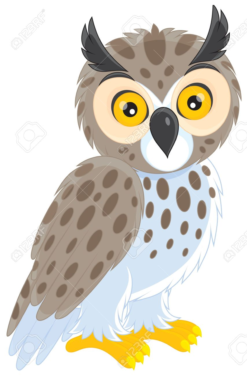 Eagle-owl clipart #15, Download drawings