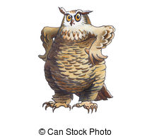 Eagle-owl clipart #13, Download drawings