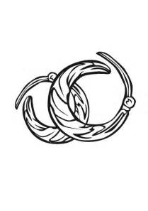 Earrings coloring #16, Download drawings