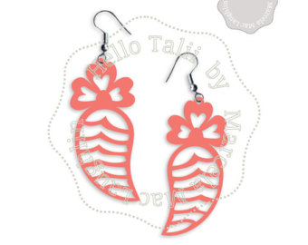 Earrings svg #3, Download drawings