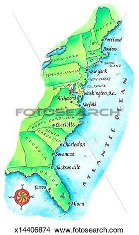 East Coast clipart #17, Download drawings