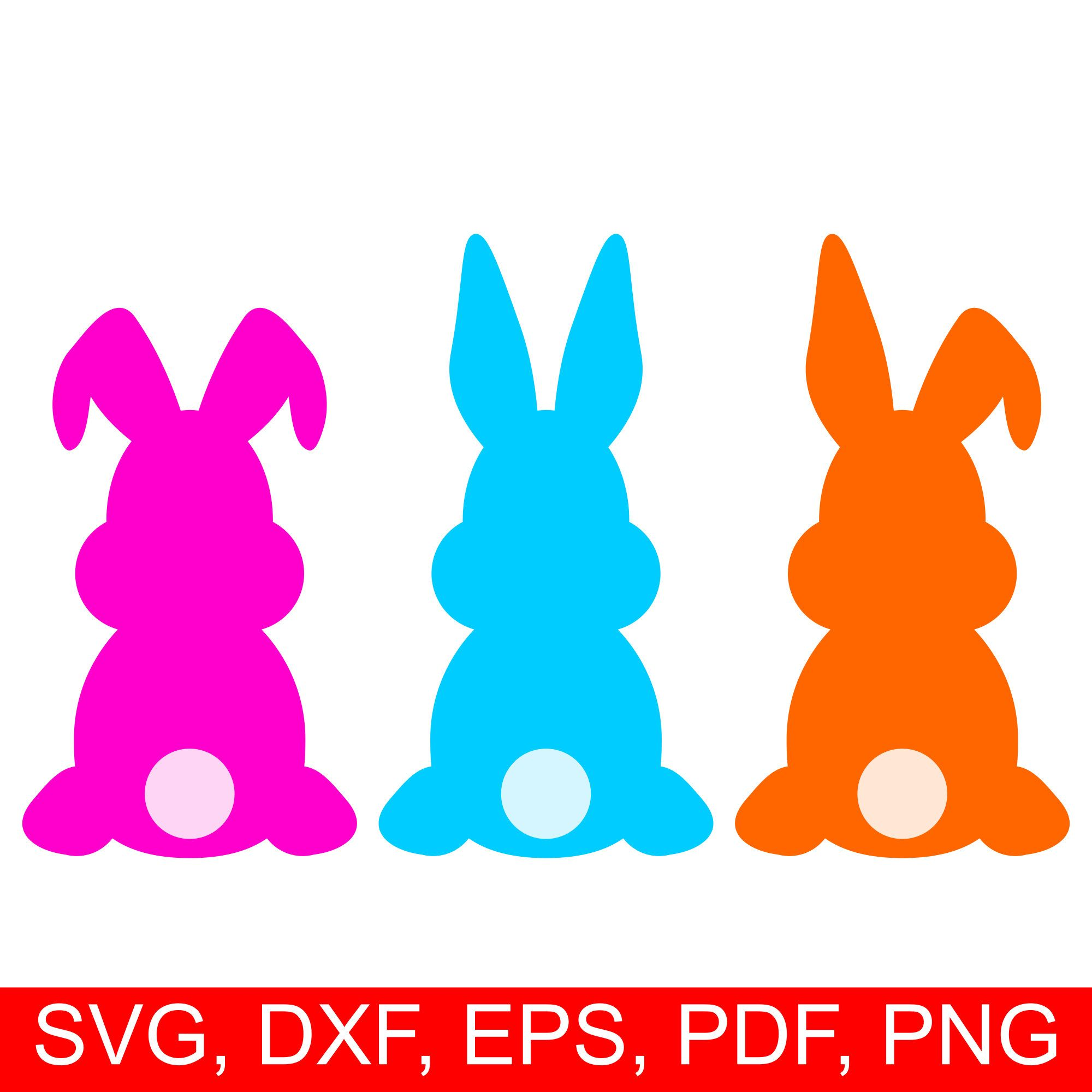 easter bunny svg #1188, Download drawings