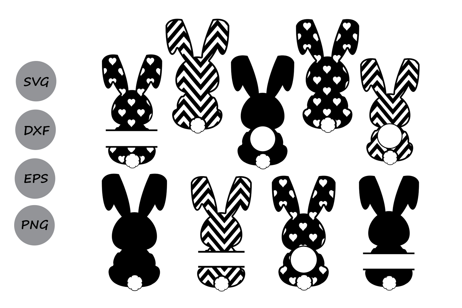 easter bunny svg #1189, Download drawings