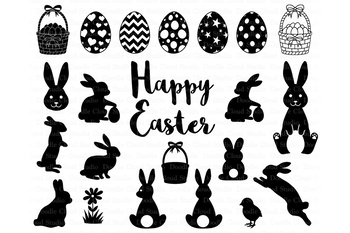 easter bunny svg #1192, Download drawings