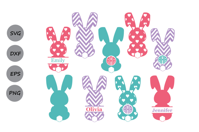 easter bunny svg free #1056, Download drawings