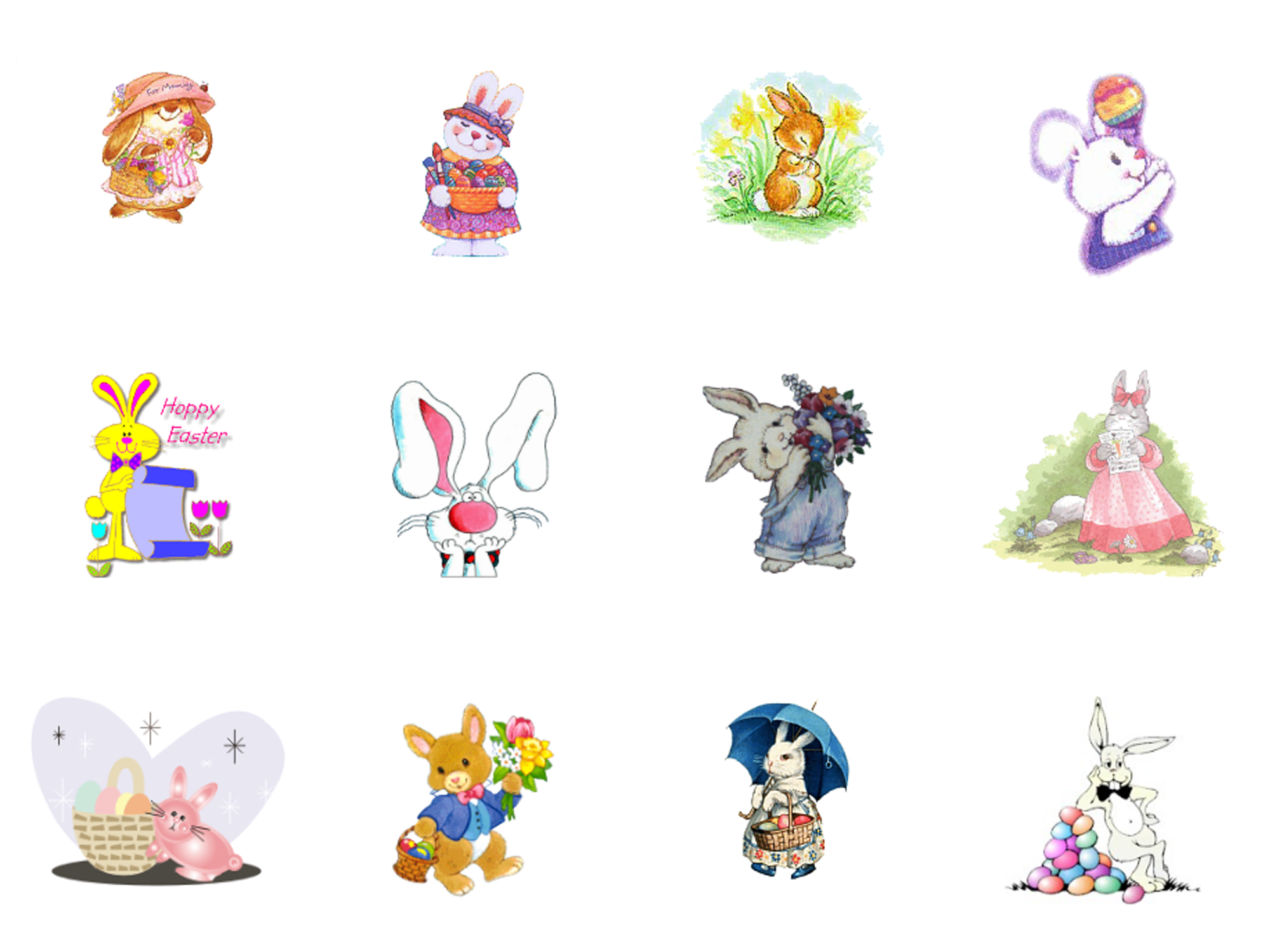 Easter clipart #2, Download drawings