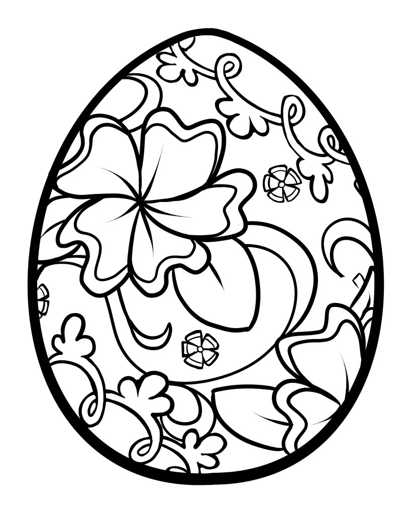 Easter coloring #10, Download drawings