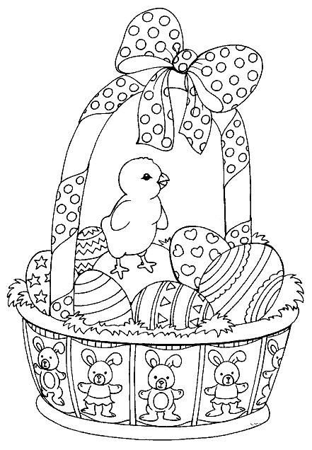 Easter coloring #6, Download drawings