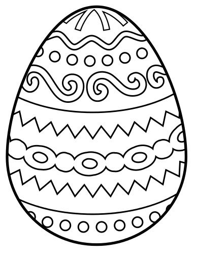 Easter coloring #7, Download drawings