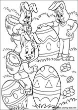 Easter coloring #3, Download drawings