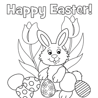 Easter coloring #18, Download drawings