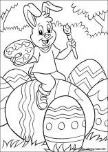 Easter coloring #9, Download drawings