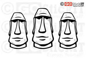 Easter Island coloring #13, Download drawings