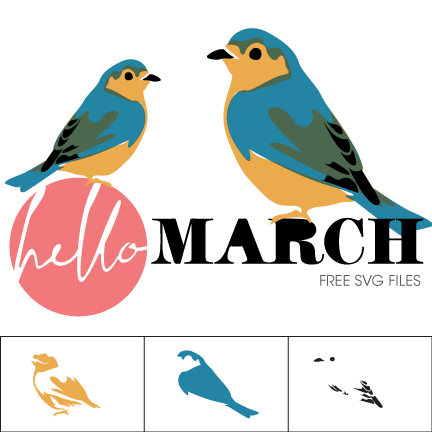 Indigo Bunting svg #16, Download drawings
