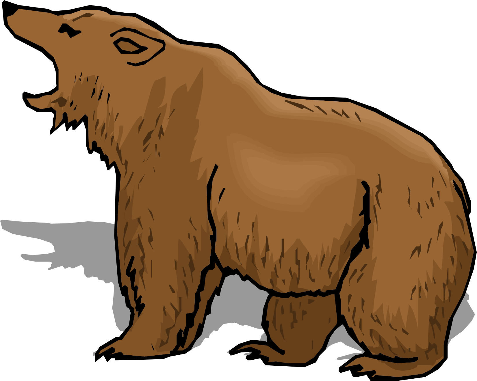 Eastern Brown Bear clipart #1, Download drawings