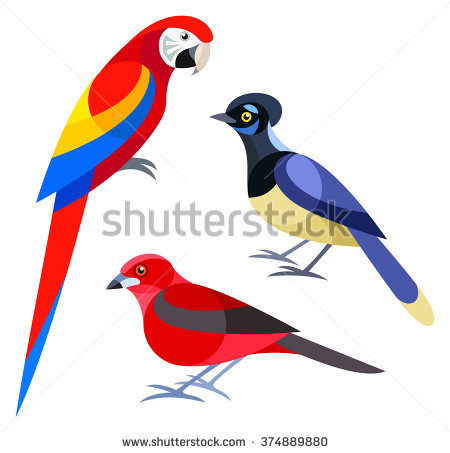 Eastern Tanager clipart #12, Download drawings