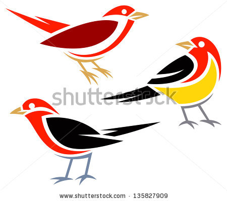 Eastern Tanager clipart #4, Download drawings