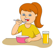 Eating clipart #4, Download drawings