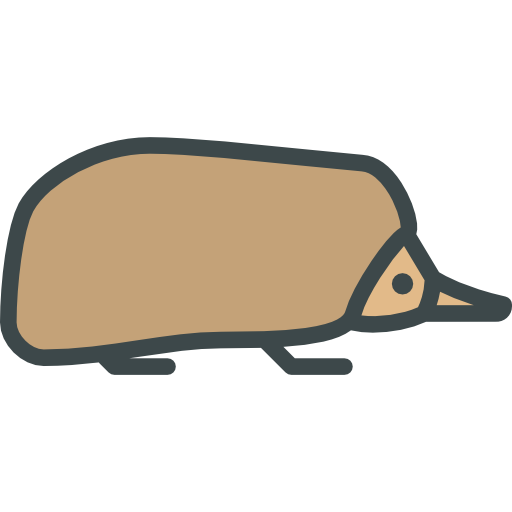 Echidna svg #14, Download drawings