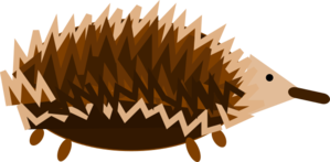 Echidna svg #18, Download drawings