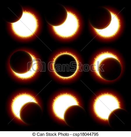 Eclipse clipart #2, Download drawings