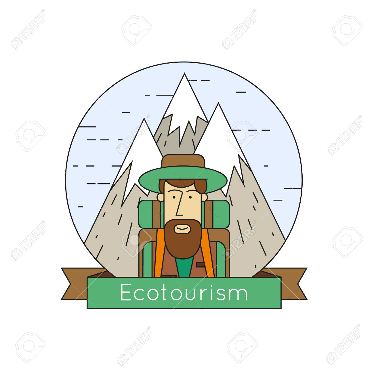 Eco Tourism clipart #1, Download drawings