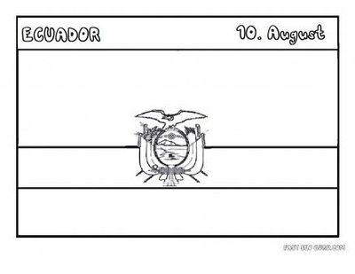 Ecuador coloring #20, Download drawings