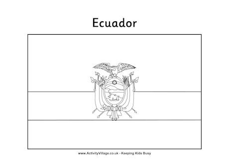 Ecuador coloring #3, Download drawings