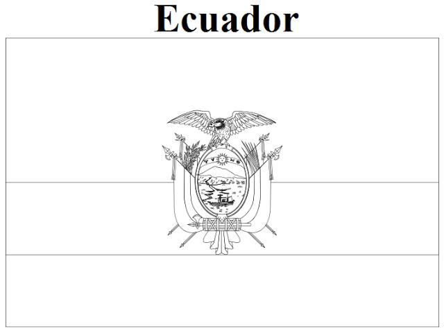 Ecuador coloring #4, Download drawings