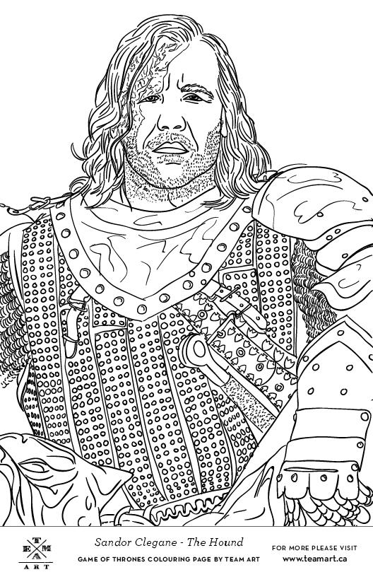 Eddard Stark coloring #15, Download drawings