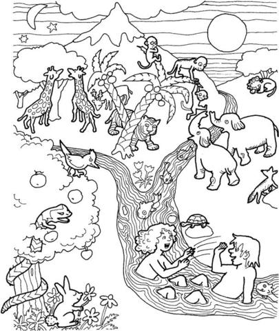 Eden coloring #16, Download drawings