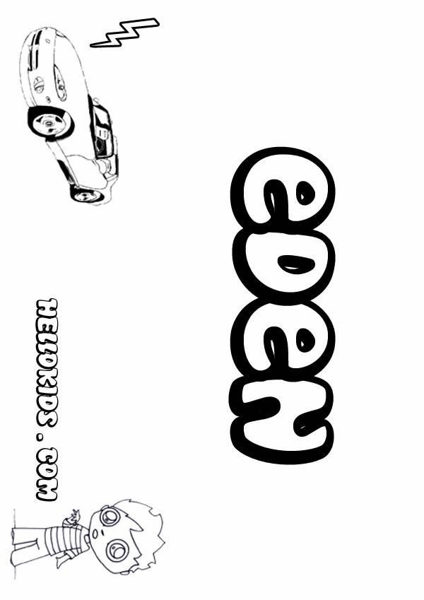Eden coloring #7, Download drawings