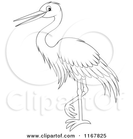 Egret clipart #3, Download drawings
