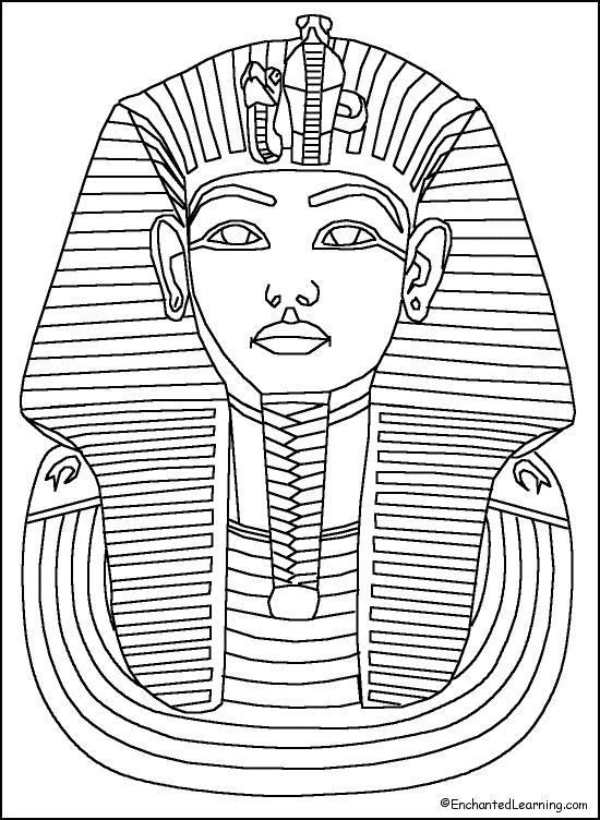 Egypt coloring #16, Download drawings